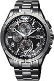 [シチズン]CITIZEN 腕時計 ATTESA アテッサ Eco-Drive エコ・ドライブ 電波時計 ダイレクトフライト AT8166-59E メンズ