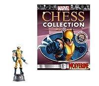 Marvel Chess Figure & Magazine #3: Wolverine White Knight [並行輸入品]