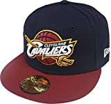 New Era Cleveland Cavaliers NBA Team Cap 59fifty 5950 Fitted Basecap Kappe Mens