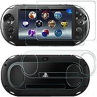 SNNC-JP PlayStation Vita 2000 用 液晶保護フィルム ガラスフィルム 9H高硬度 極薄 防塵 傷防止