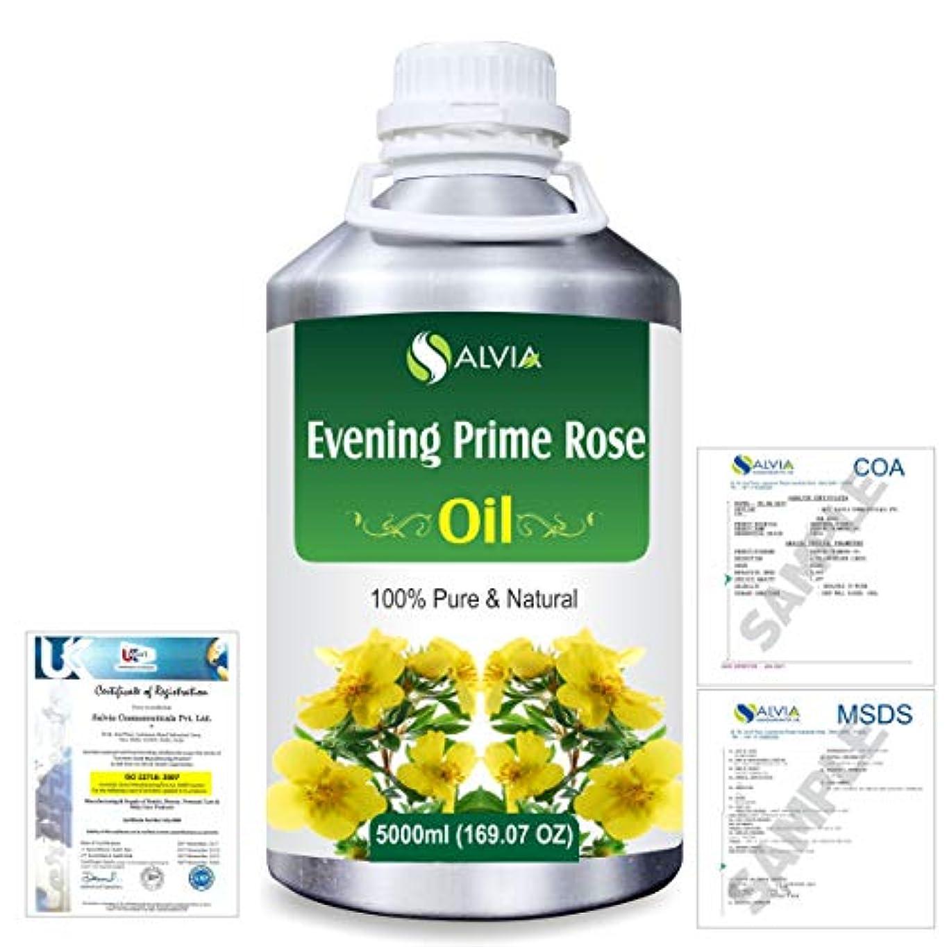 取り扱い一単調なEvening Prime rose 100% Natural Pure Essential Oil 5000ml/169fl.oz.