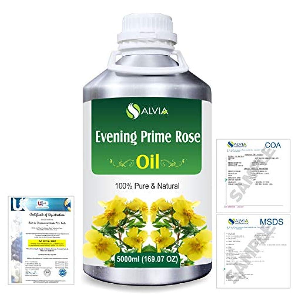 キャプション感性笑いEvening Prime rose 100% Natural Pure Essential Oil 5000ml/169fl.oz.