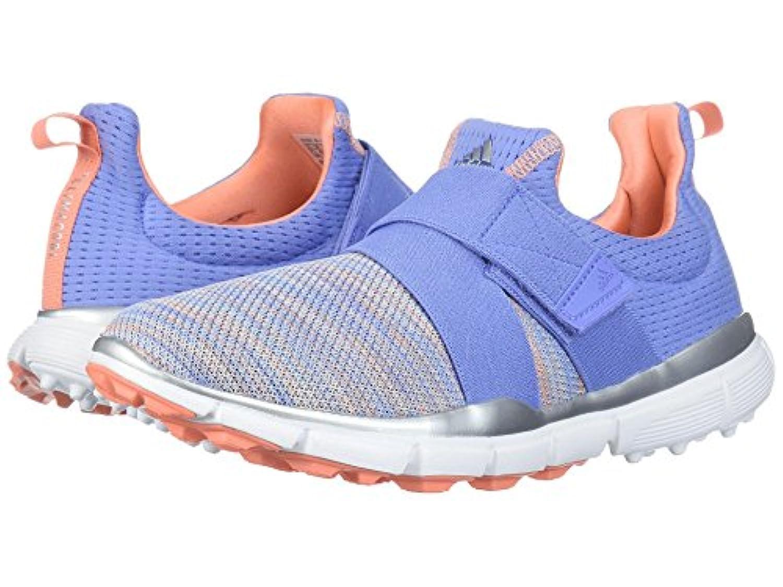 (アディダス) adidas レディースゴルフシューズ?靴 Climacool Knit Chalk Purple/Chalk Blue/Chalk Coral 5 (22cm) B - Medium