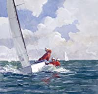 Soling on the Edgeアートプリントby Ray Ellis