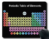 マウスパッド、元素周期表2019ゲーミングマウスパッド、深刻な学生のための図表、教師、厚手ラバー大型マウスパッド
