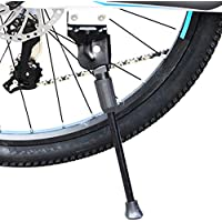 BOBORA 26インチ 自転車 サイドスタンド ブラック ロードバイク マウンテンバイク 軽量 汎用 片足スタンド 二つの穴