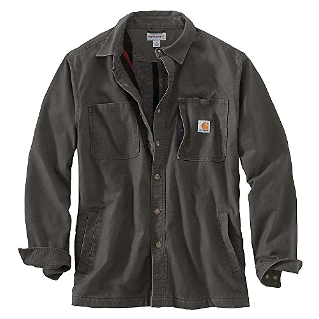 役員負毎日カーハート トップス シャツ Carhartt Men's Rugged Flex Rigby Shirt J Peat 540 [並行輸入品]