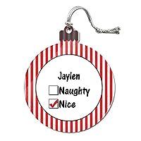 Jaylen is ニースアクリルクリスマスオーナメント