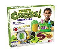 Gross Science Lab Activity Playset w/ 30 experiments 2 toxic waste can beakers