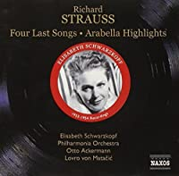 Four Last Songs - Arabell by R. STRAUSS (2006-08-01)