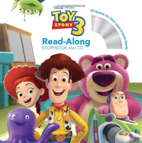 Toy Story 3 Read-Along Storybook and CDの詳細を見る