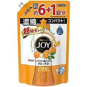 【大容量】 ジョイ コンパクト 食器用洗剤 オレンジピール成分入り 超特大 1065ml
