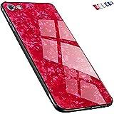 「Univo Colors」IPHONE 6S IPHONE 6 専用ケース あいふぉん 6/6S 全面保護カバー キラキラ 背面強化ガラス TPU素材 レンズ保護 薄型 傷防止 専用カバー (ブラック)