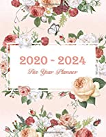 2020-2024 Five Year Planner: 60 Months Yearly Planner Monthly Calendar, Agenda Schedule Organizer and Appointment Notebook with Federal Holidays Logbook and Journal. (2020-2024 5 Year Monthly Planner)