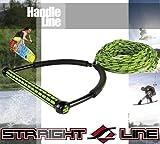 STRAIGHT LINE(ストレートライン) ウェイクボード用ハンドル・ラインセット 65'EVA TR9コンボ