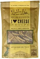 Bubba Rose Biscuit smchee I Heart Cheese Dog Treats, 6 oz by Bubba Rose Biscuit Co.