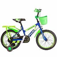 HAIZHEN マウンテンバイク 子供用自転車3/6/9歳男の子用ベビーカー12/16/14/18インチ男の子用自転車 新生児 (色 : 青, サイズ さいず : 16 inch)
