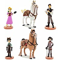 Disney(ディズニー) Tangled: The Series Figure Play Set  ラプンツェル フィギュアセット [並行輸入品]
