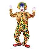 【ELEEJE】 まるで本物! ピエロ コスプレ 衣装 仮装 オリジナル 本格 フル セット & ウィッグネット ウィッグスタンド (ピエロ B)