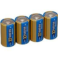 アイリスオーヤマ アルカリ乾電池 BIG CAPA α 長寿命・大容量タイプ 単1形 4本 LR20IB/4S