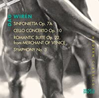 Sinfonietta 71 by DAG WIREN (2001-11-30)