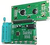 動作電圧: 7~12 VDC  動作電流:  サイズ: 70×45×40 mm 長さ×幅×高さ インターフェースの説明と操作方法 JK1電源インターフーイス(DCヘッド D13):内側が正(+)、外側が̠負(-)。給電電圧(7~12V)直流調整電源。 SW1 電源スイッチ ON: 電源オン状態。 OFF: 電源オフ状態。 ボタンの説明 MODE: 集積回路のタイプを選ぶ。(74シリーズまたは40シリーズ) UP: 前回の集積回路型番号を選ぶ。 DOWN: 次の集積回路型番号を選ぶ。 TEST: ...