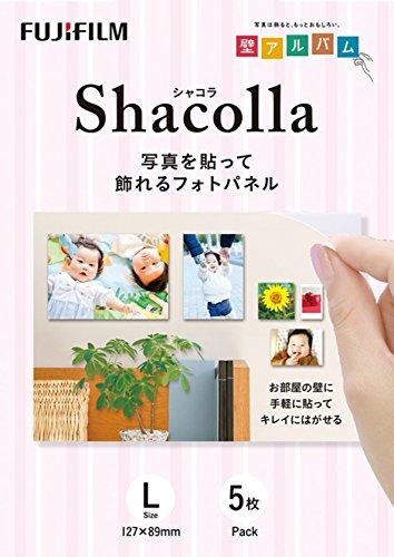 FUJIFILM 『壁アルバム』用フォトパネル shacolla(シャコラ) 5枚入 L WD KABE-AL L 5P