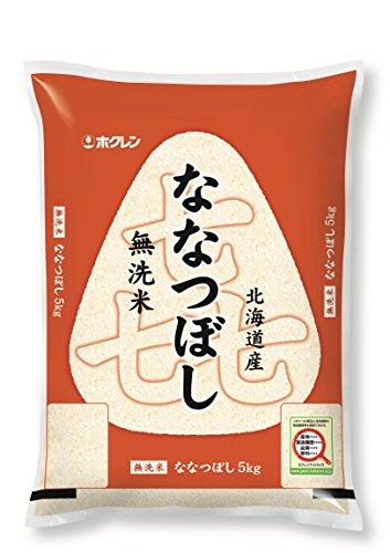 【精米】ホクレン 無洗米 ななつぼし 5kg 平成29年産