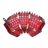 ammoon 手風琴 20鍵 40リード 専用ケース付き アコーディオン 楽器 アングロ コンサーティーナ 初心者や専門家対応