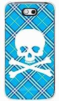 SECOND SKIN [DELL Streak Pro GS01/EMOBILE専用] スマートフォンケース スカルパンク ブルー (クリア) EDLGS1-PCCL-201-Y217