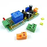 GEREE DC 5-12V Timer Relay Switch 1-300 Second Input Time Over Reset Delay [並行輸入品]