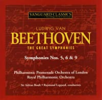 Beethoven: The Great Symphonies Nos. 5 6 9 Borders