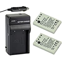 DSTE® アクセサリーキット Nikon EN-EL5 互換 カメラ バッテリー 2個+充電器キット対応機種 Coolpix P530 P5000 P5100 P6000 3700 4200 5200 5900 7900 P500