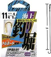 ささめ針(SASAME) 海上釣り堀(伊勢尼) 金 鈎14/ハリス12 T-470