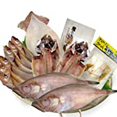 【冷凍】豪華 海の幸 干物 セット 6種 一夜干し 赤かれい はたはた あじ するめいか へしこ2種 越前仕立て [その他]