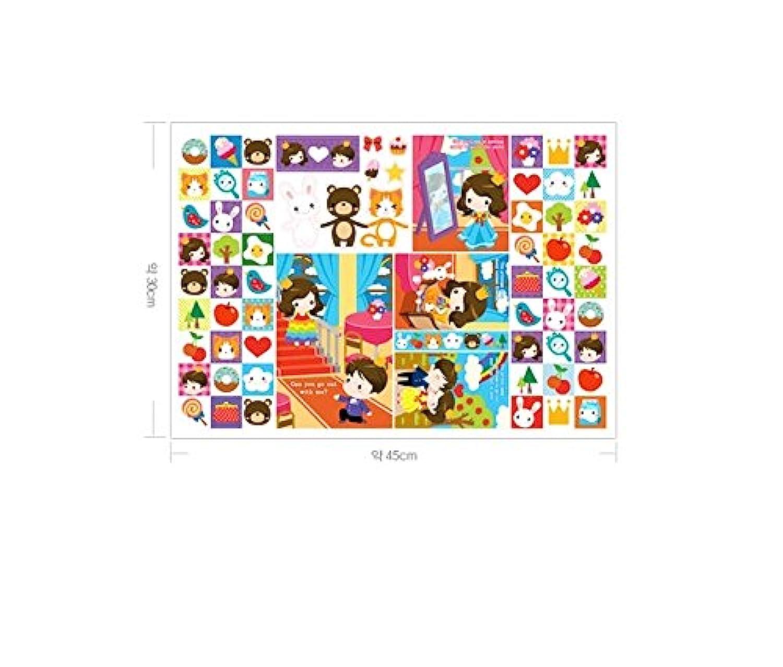 Korea Toy - Cute Couple hard paper 802 color