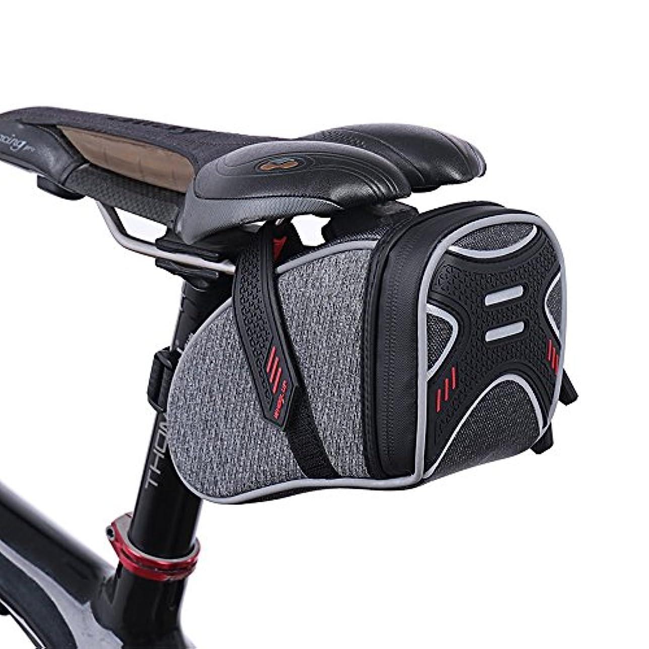 ご意見予測するみなさん自転車サドルバッグ - 反射自転車シートバッグバイクテールバッグ修復ツールポケットマウンテンロードサイクリングリアシートウェッジパック