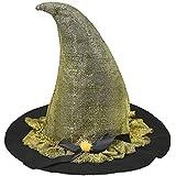 ハロウィン魔女帽子リボン付きコスプレパーティー衣装のアクセサリーCovenファンシーパーティー