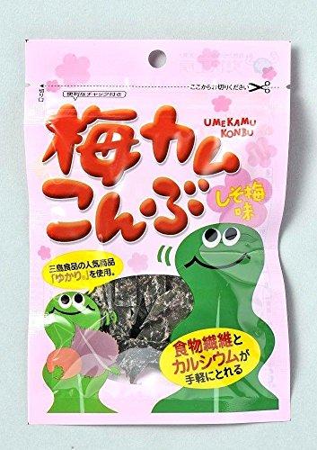 上田昆布 梅カムこんぶ しそ梅味 10g×10袋