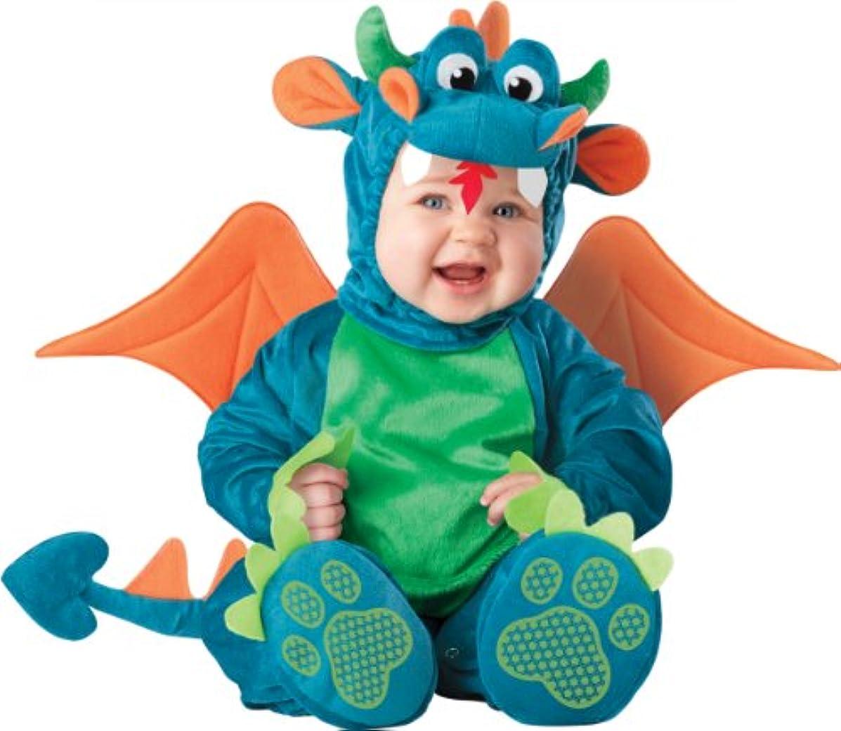 投げ捨てるゼリーモーションDinky Dragon Infant / Toddler Costume ちっぽけドラゴンの幼児/幼児コスチューム サイズ:18 Months/2T