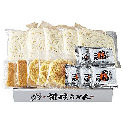 ( 産地直送 / せい麺や ) 讃岐うどんきつね・天ぷら 5食セット