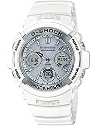 [カシオ]CASIO 腕時計 G-SHOCK ジーショック マリンホワイト 電波ソーラー AWG-M100SMW-7AJF メンズ