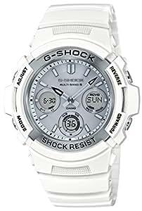 [カシオ] 腕時計 ジーショック マリンホワイト 電波ソーラー AWG-M100SMW-7AJF メンズ ホワイト