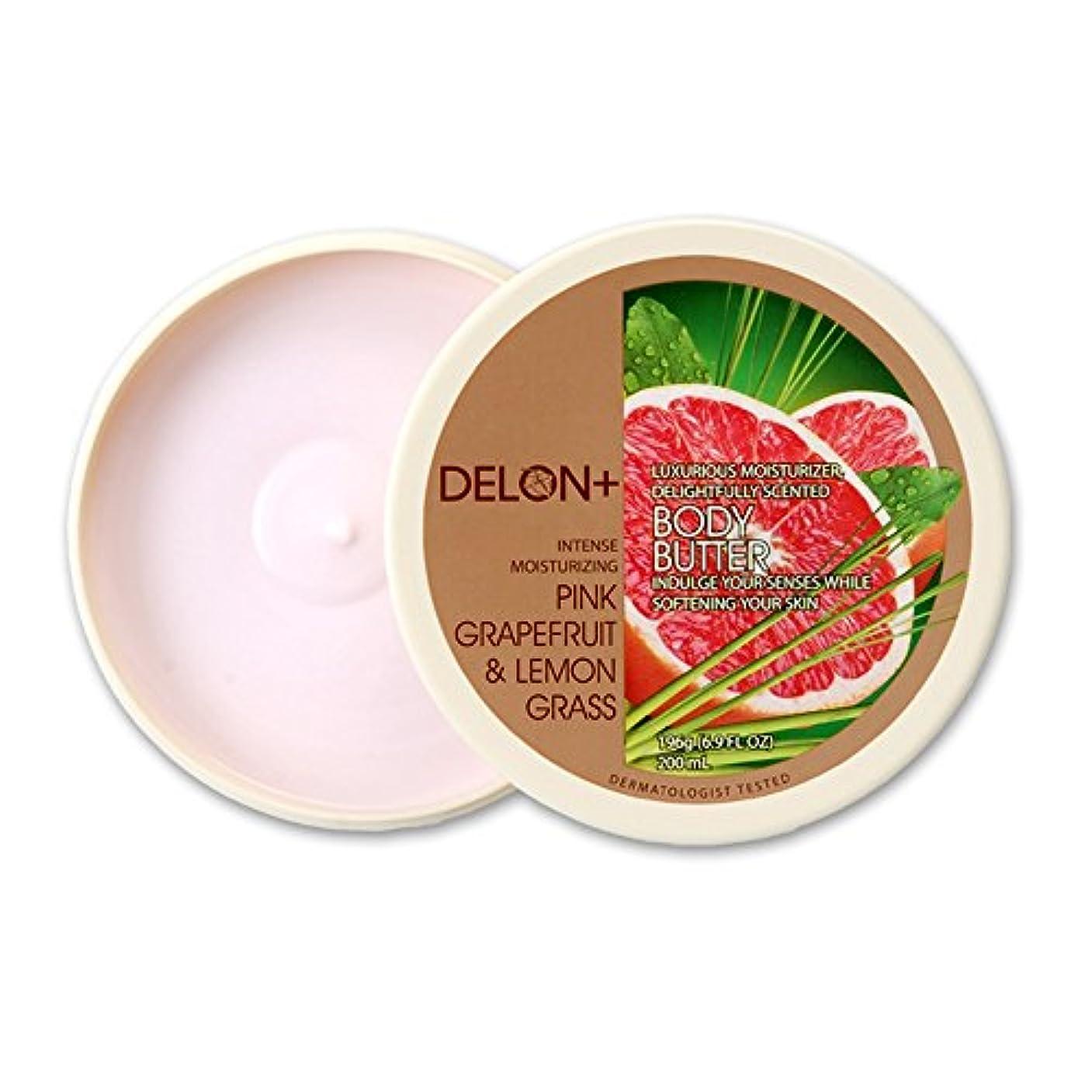 拳委任群れDelon オリジナル?ボディバター デロンボディバター(ピンクGF&レモン)