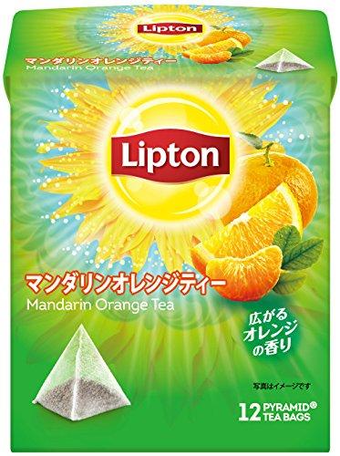 リプトン マンダリンオレンジティー ティーバッグ 1個(12バッグ)
