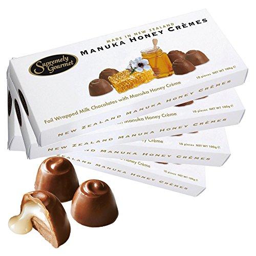 ニュージーランドお土産 マヌカハニークリームチョコレート 4箱セット