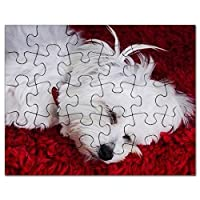CafePress–Tired Pup–ジグソーパズル、30個。
