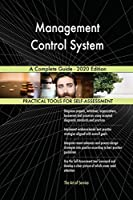 Management Control System A Complete Guide - 2020 Edition
