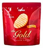 カルビー ポテトチップス ザ・ゴールド(the gold) マイルドソルト 35g×6袋