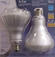 ( 2-bulbs ) 65ワット交換用コンパクト蛍光灯br30バルブ15ワット